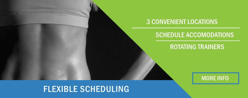 Fit180 Flexible Scheduling